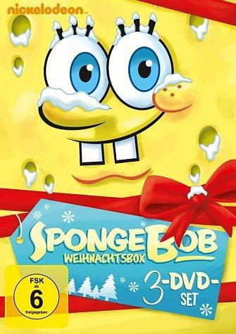 DVD »SpongeBob Schwammkopf - Weihnachtsbox (3 Discs)«