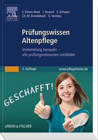 Broschiertes Buch »Prüfungswissen Altenpflege«