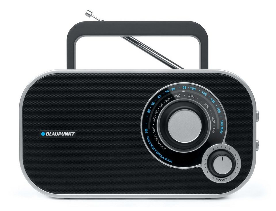 Blaupunkt Analog Desktop Radio »BTA-6000« in schwarz