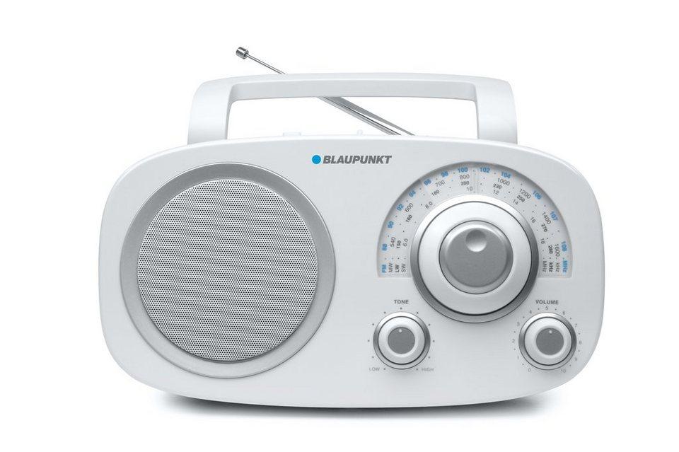 Blaupunkt Analog Radio / Weltempfänger »BSA-8001« in weiss