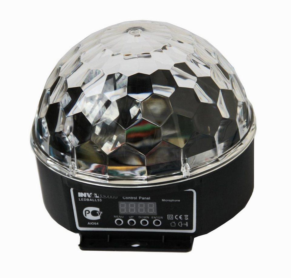 Involight Crystal LED Partylicht »LEDBALL 53« in schwarz