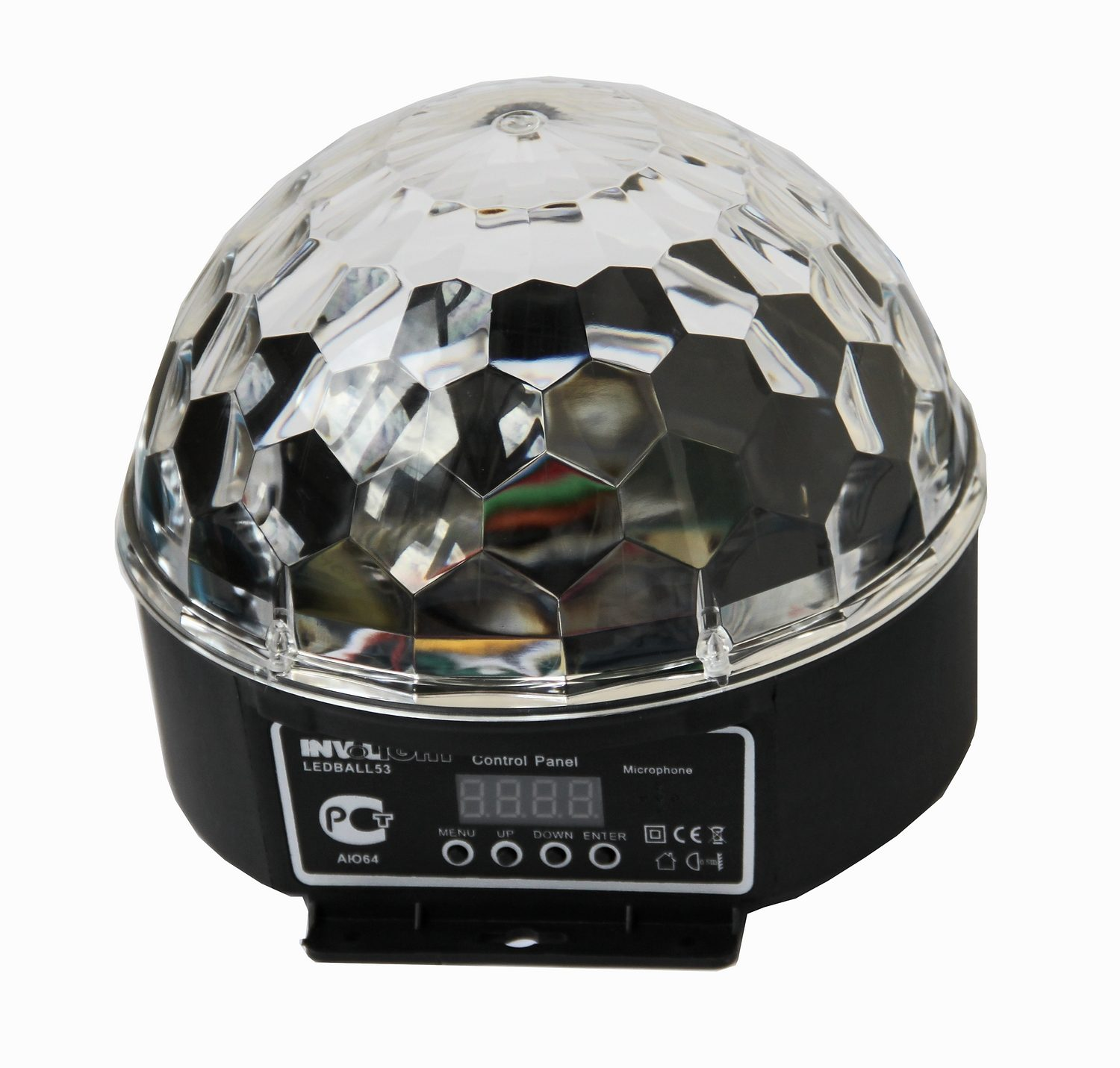 Involight Crystal LED Partylicht »LEDBALL 53«