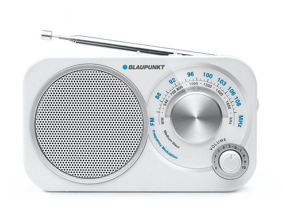 Blaupunkt Analog Travel Radio »BA-209« in weiss