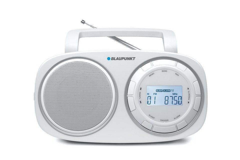 Blaupunkt Digital PLL Radio mit RDS »BSD-9001« in weiss