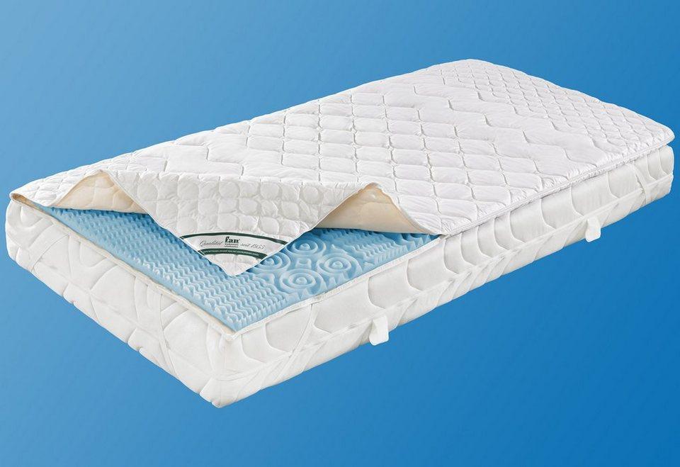 kaltschaum topper medisan softly baumwolle f a n 1 tlg oder 2 tlg online kaufen otto. Black Bedroom Furniture Sets. Home Design Ideas