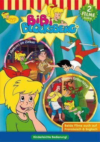 DVD »Bibi Blocksberg - Hexerei im Zirkus/ Mami's...«