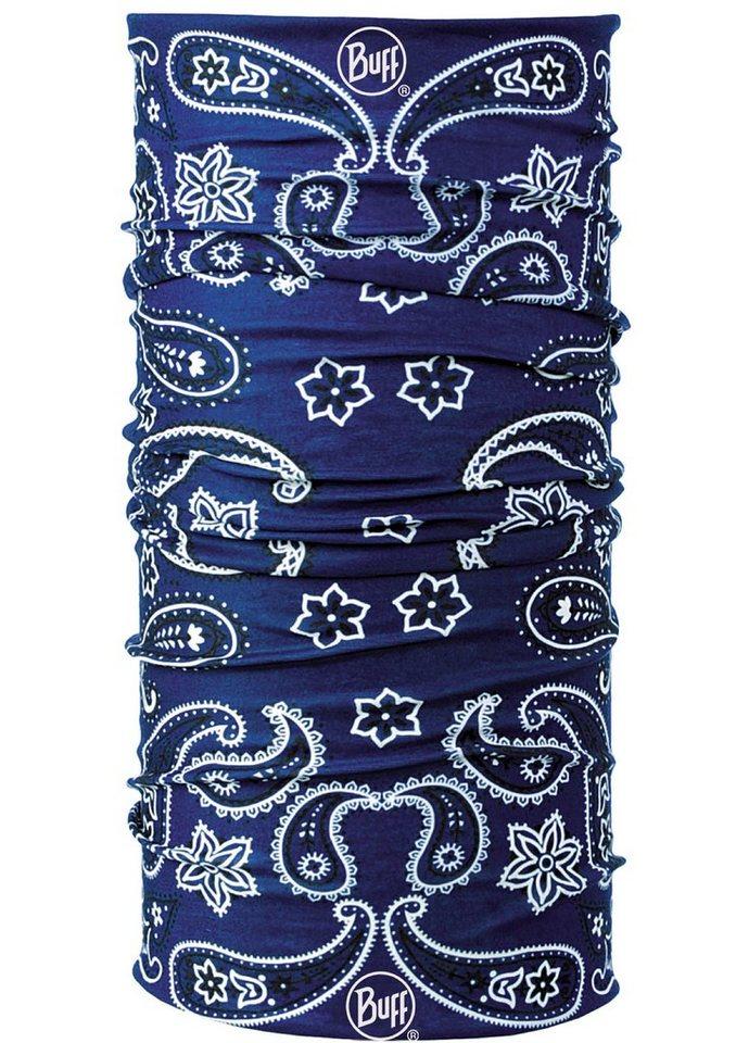 Multifunktionstuch, »Cashmere Blue «, BUFF in blau-weiß