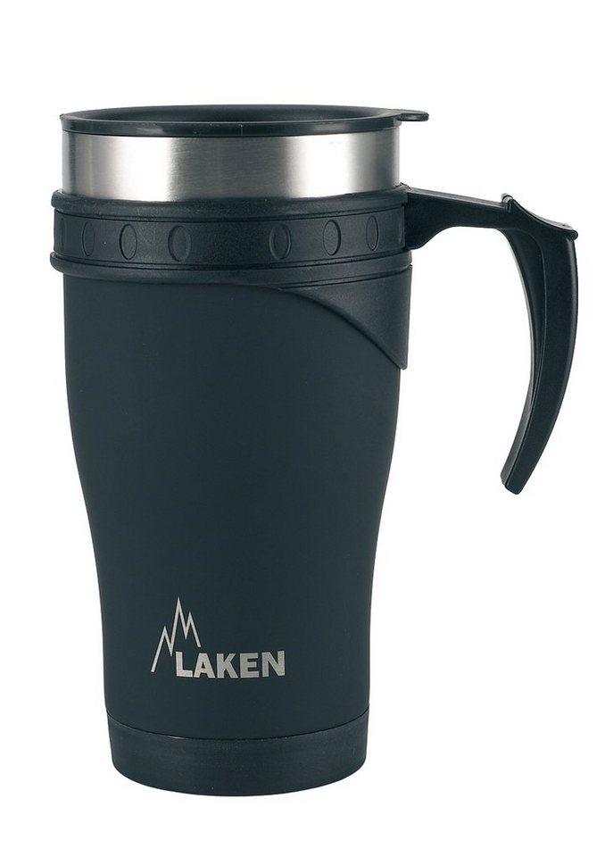 Thermostasse, »0,5 l«, Laken® in schwarz