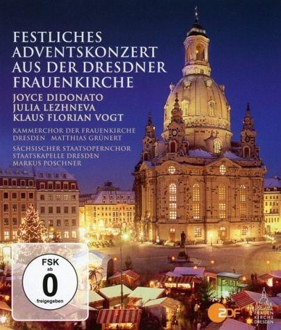 Blu-ray »Festliches Adventskonzert aus der Dresdner...«