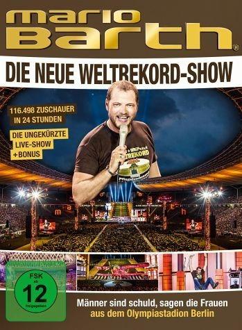 DVD »Mario Barth: Weltrekord-Show - Männer sind...«