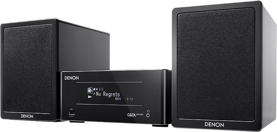 Denon Ceol Piccolo N4 Kompaktanlage, Spotify, Airplay, Bluetooth, NFC, WLAN, 1x USB in schwarz