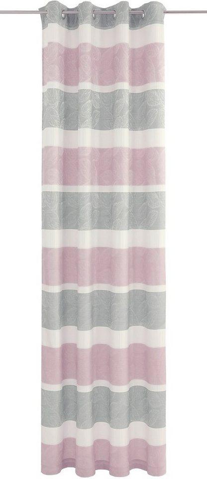 Vorhang, Deko trends, »Mathilda« (1 Stück) in wollweiß/silber