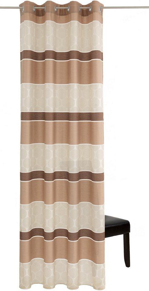 Vorhang, Deko trends, »Casino« (1 Stück) in braun/beige