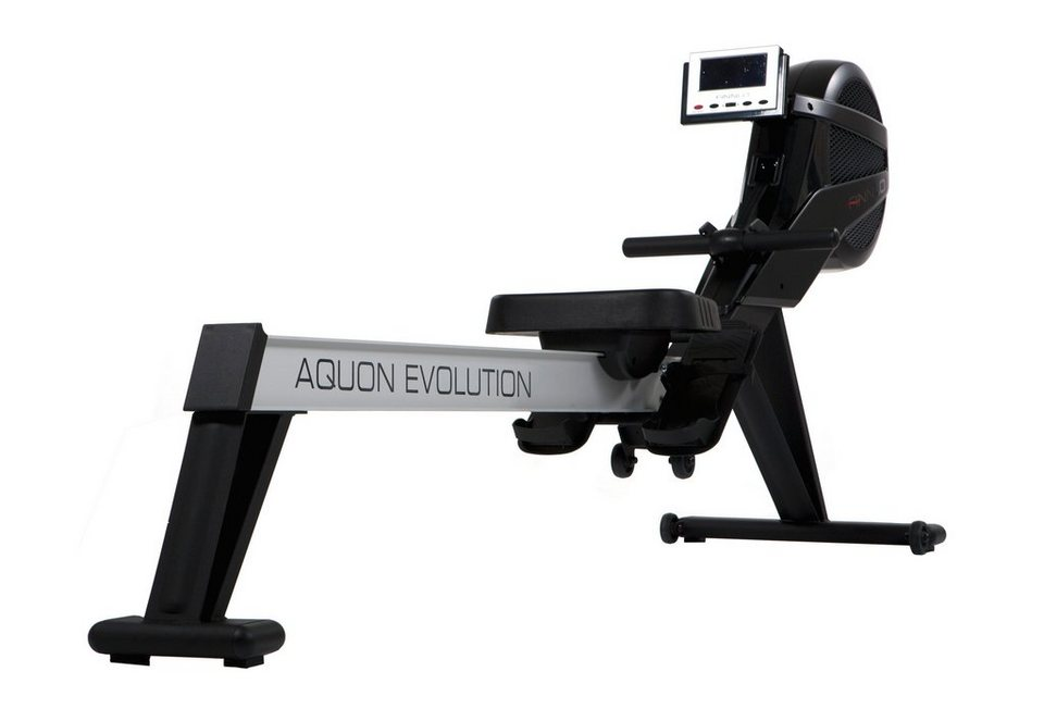 Rudergerät, »Ergometer Rower Aquon Evolution«, Finnlo by Hammer in schwarz-silber