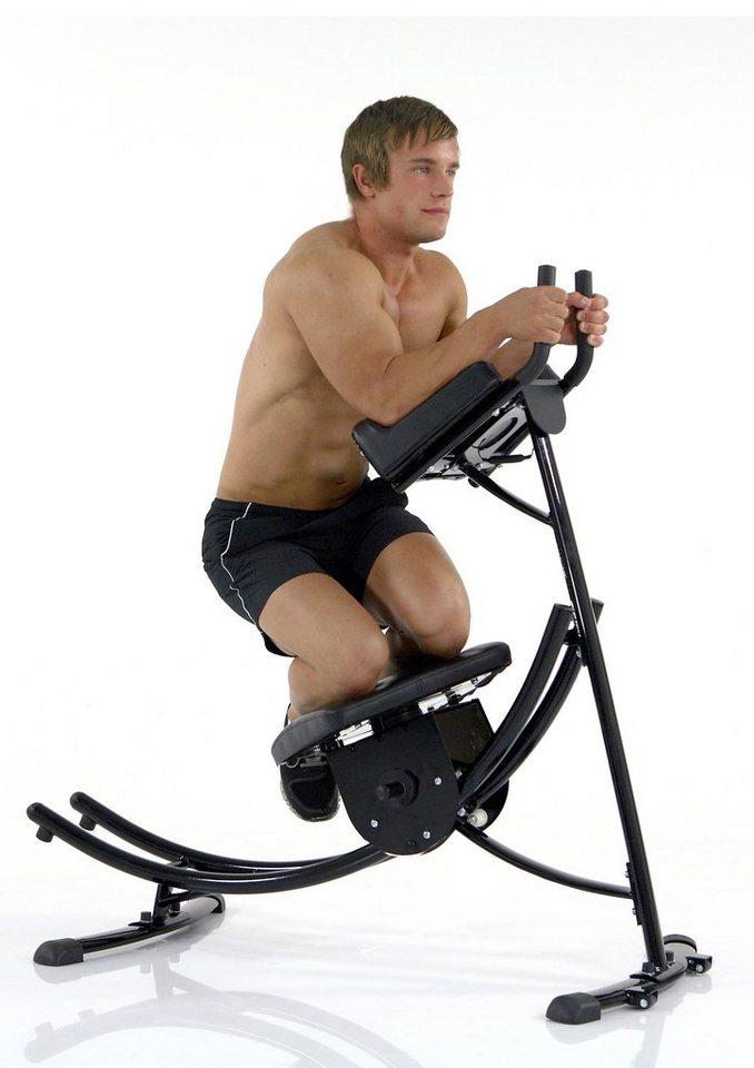 Bauchtrainer, »AB-Trax Pro«, Mens Health Powertools in schwarz