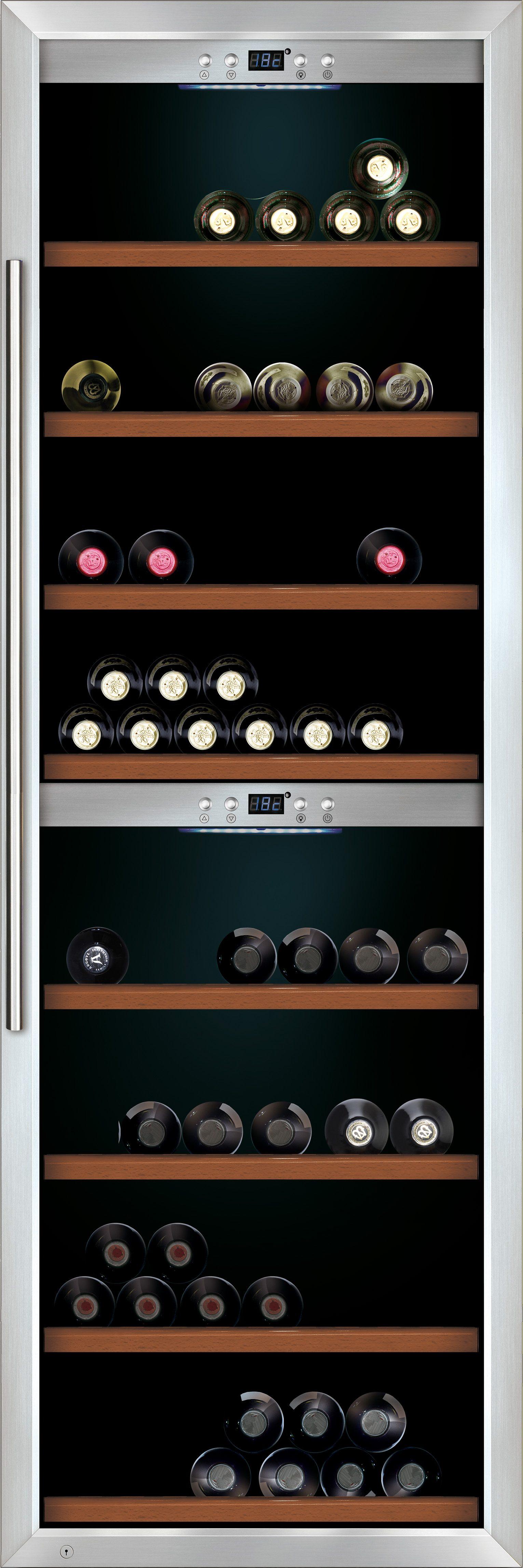 CASO Design Weinkühlschrank »WineMaster 180«, Höhe 186 cm, für 180 Bordeauxflaschen á 0,75l