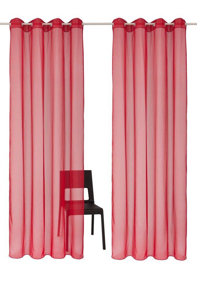 gardine my home xanten mit sen 2 st ck otto. Black Bedroom Furniture Sets. Home Design Ideas