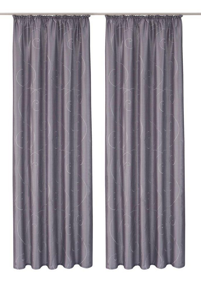 Vorhang, my home, »Campinas« (2 Stück) in grau