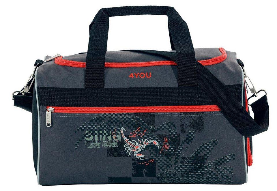 Sporttasche, Scorpion, »Sporttasche M«, 4YOU in schwarz