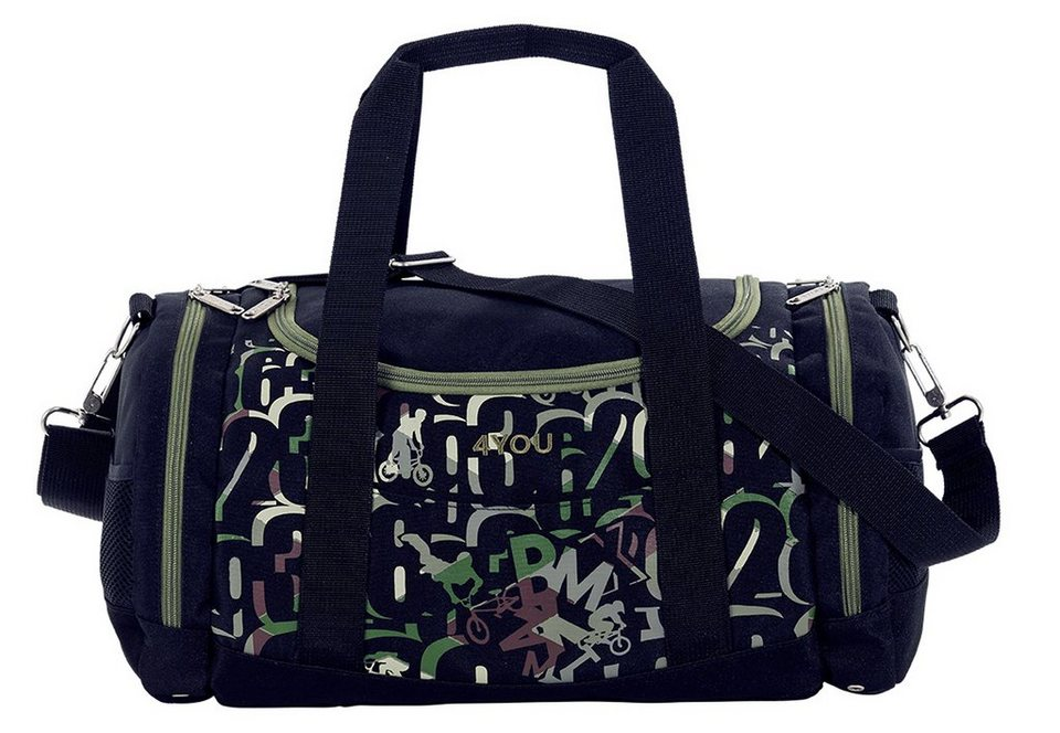 4YOU Sporttasche, BMX, »Sportbag Function« in bunt
