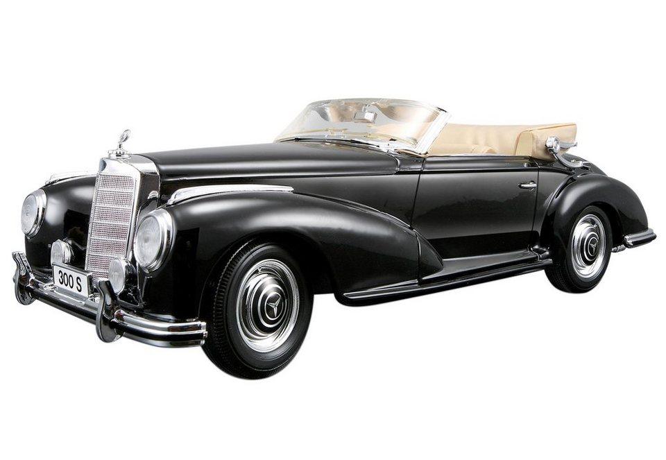 Sammlerauto, »Mercedes 300S Cabrio '55«, Maisto® in schwarz