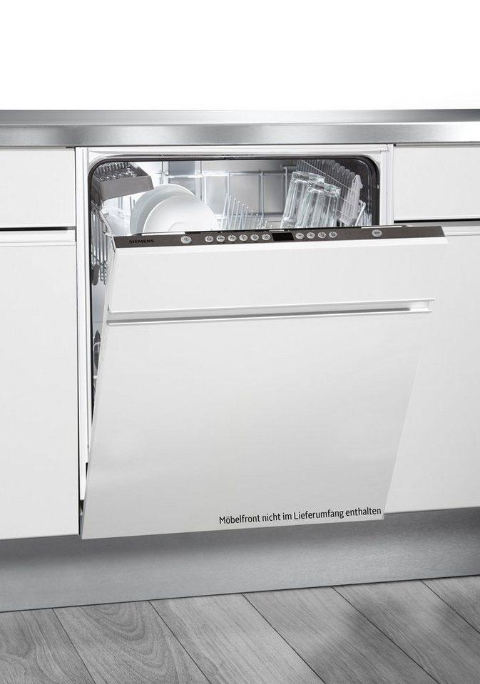 Siemens vollintegrierbarer Einbaugeschirrspüler SN66P080EU, A++, 9,5 Liter, 14 Maßgedecke