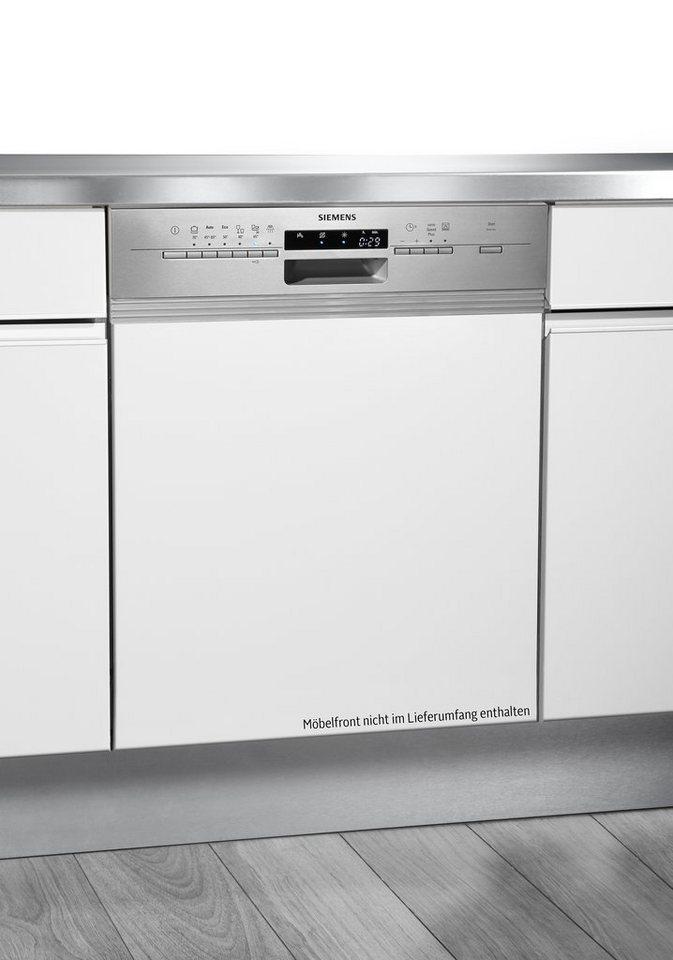 Siemens integrierbarer Einbaugeschirrspüler SN56P530EU, A++, 9,5 Liter, 13 Maßgedecke in Edelstahl