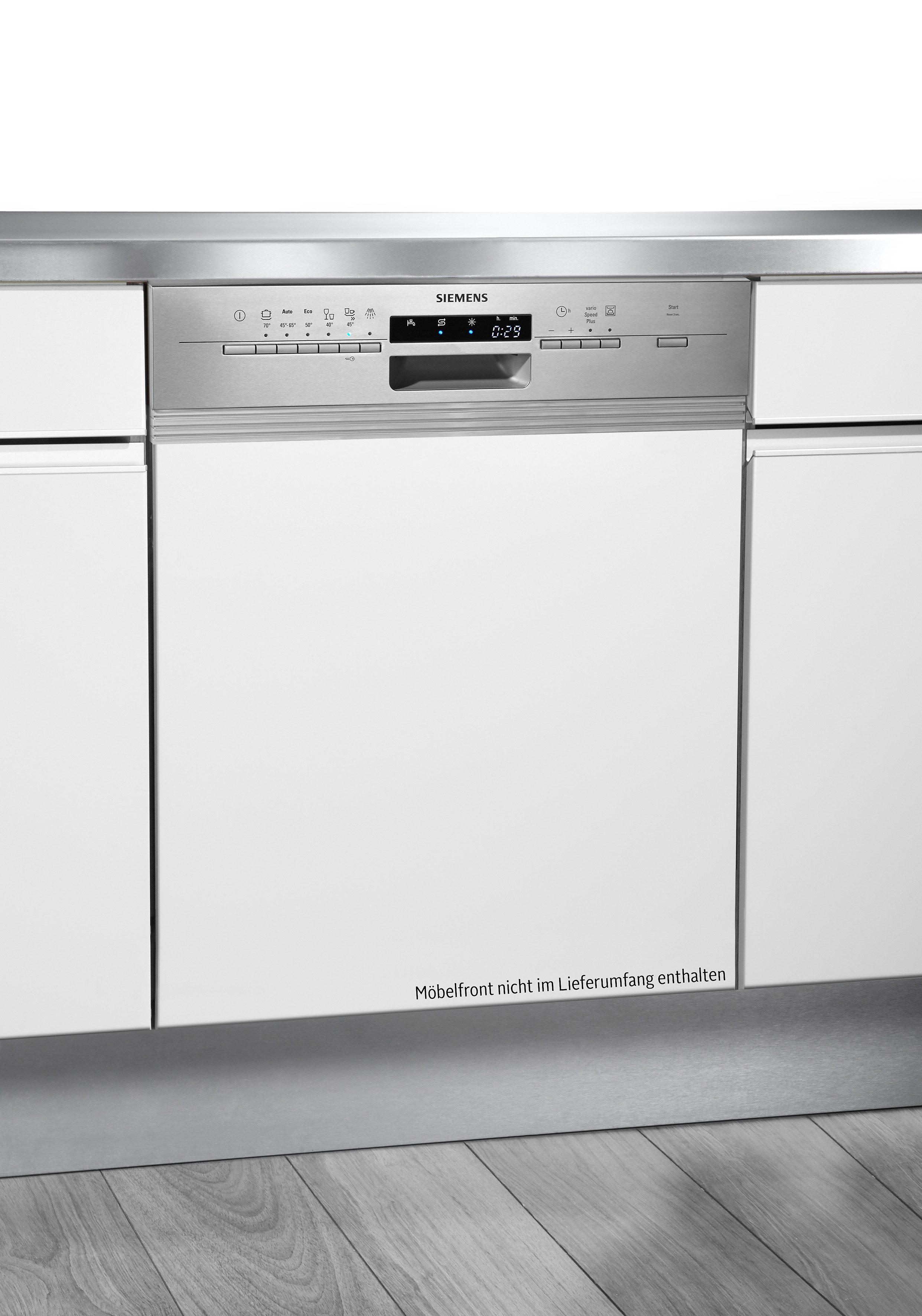 Siemens integrierbarer Einbaugeschirrspüler SN56P530EU, A++, 9,5 Liter, 13 Maßgedecke