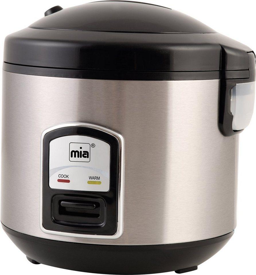 MIA Reiskocher RK 4508, mit Koch- und Warmhalteautomatik, 400 Watt in schwarz