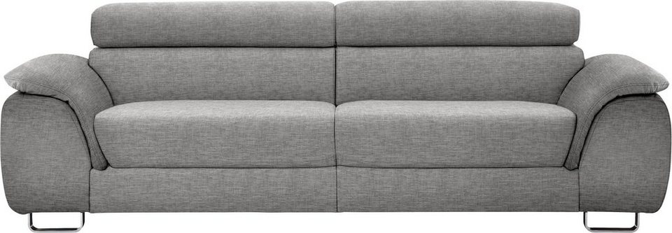 ewald schillig 2 sitzer sofa l pearl inklusive kopfteilverstellung breite breite 225 cm. Black Bedroom Furniture Sets. Home Design Ideas