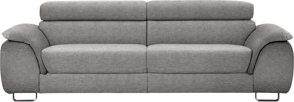 ewald schillig 2 sitzer sofa m pearl inklusive kopfteilverstellung breite 205 cm online. Black Bedroom Furniture Sets. Home Design Ideas