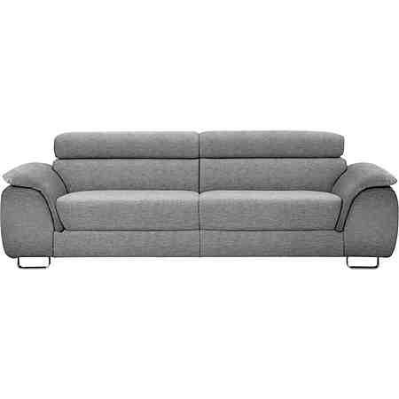 Ewald Schillig 2-Sitzer Sofa L »Pearl«, inklusive Kopfteilverstellung, Breite Breite 225 cm