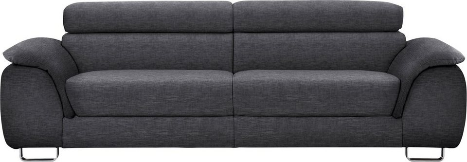 ewald schillig 2 sitzer sofa m pearl inklusive kopfteilverstellung breite 205 cm online. Black Bedroom Furniture Sets. Home Design Ideas