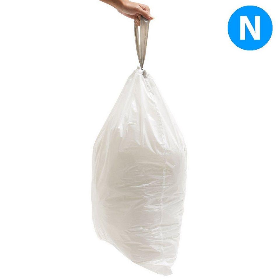 SIMPLEHUMAN simplehuman 20 Abfallbeutel Müllbeutel N 45L