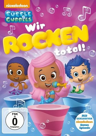 DVD »Bubble Guppies - Wir rocken total!«