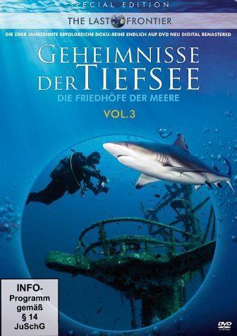 DVD »The Last Frontier - Geheimnisse der Tiefsee (3...«