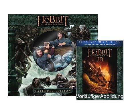 Blu-ray »Der Hobbit - Smaugs Einöde 3D Extended Edition...«