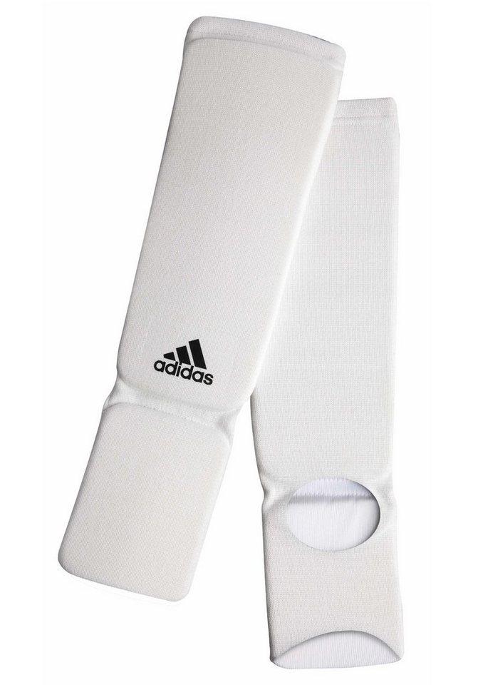 Schienbeinschoner, in 6 Größen lieferbar, »Shin-n-step Pad«, adidas Performance in weiß