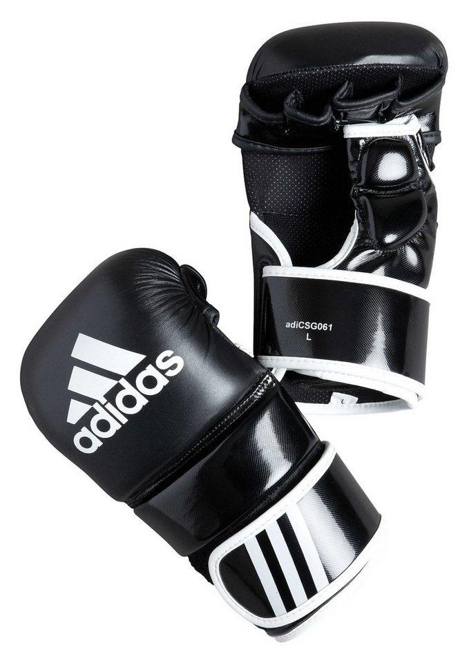 MMA Handschuhe, in 4 Größen lieferbar, »Training Grappling Cloves«, adidas Performance in schwarz