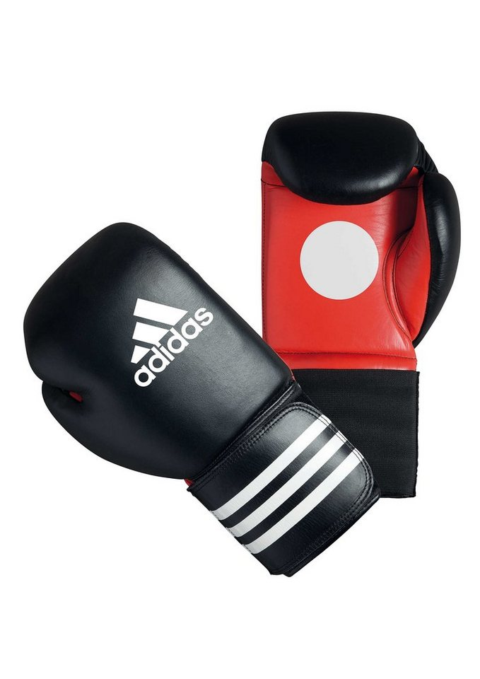 Boxhandschuhe, »Sparring Coach Gloves«, adidas Performance in schwarz-rot