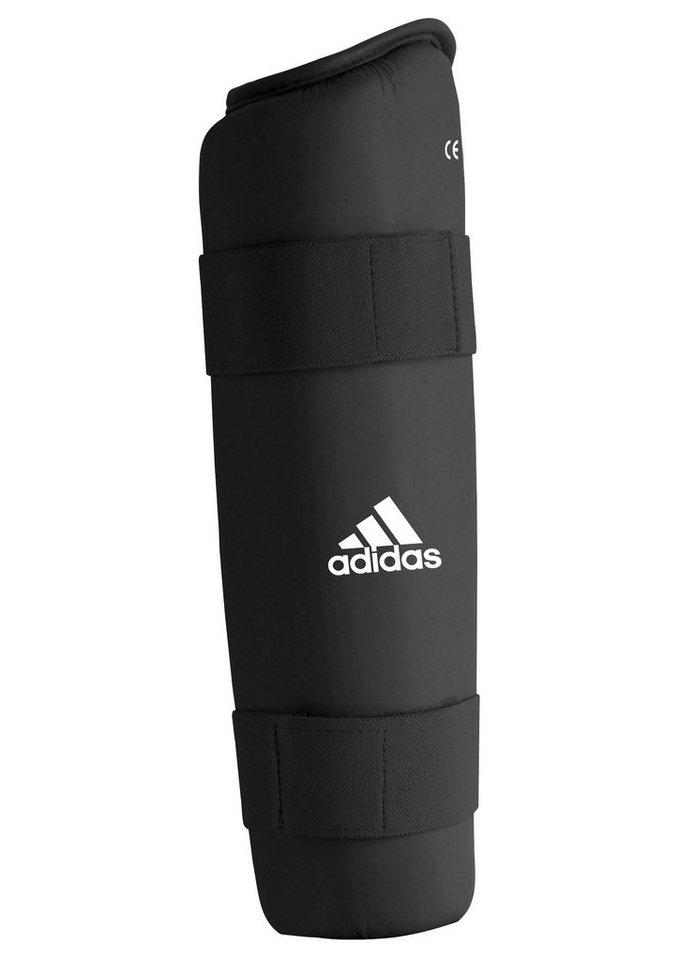 Schienbeinschoner, in 5 Größen lieferbar, »PU Shin Guard«, adidas Performance in schwarz