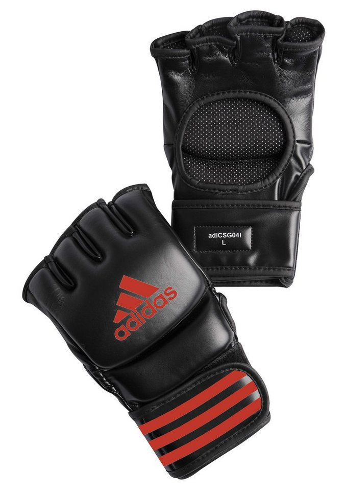 MMA Handschuhe, in 4 Größen lieferbar, »Ultimate Fight Glove«, adidas Performance in schwarz-rot