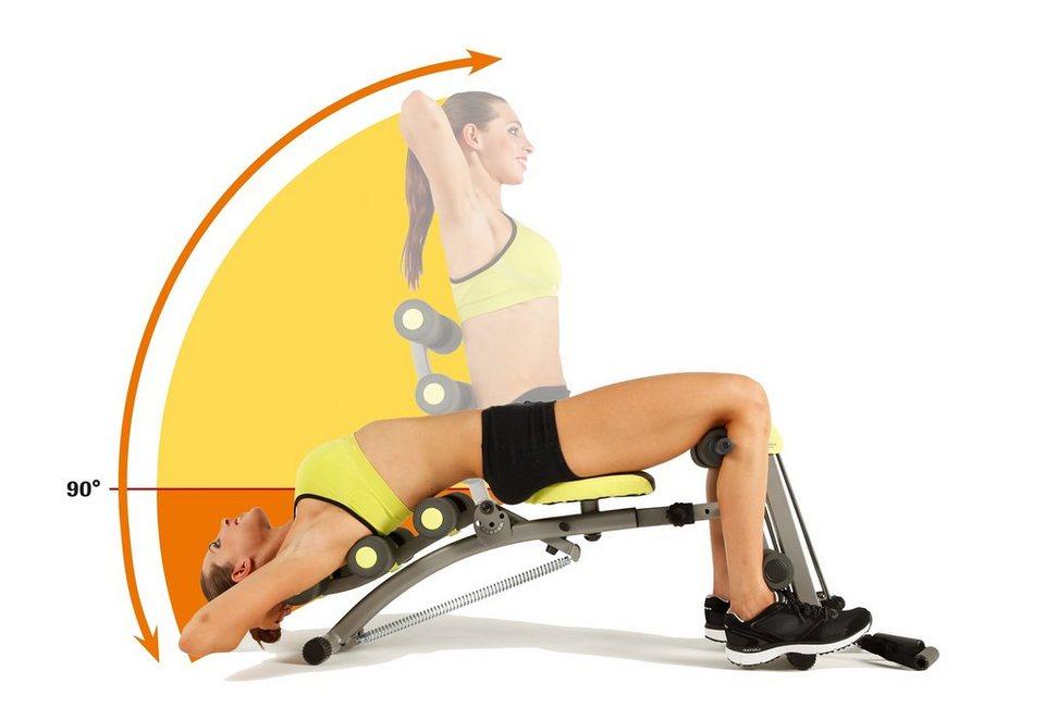 Ganzkörper-Fitnessgerät Heimtrainer, Wonder Core 2 in silber-grau