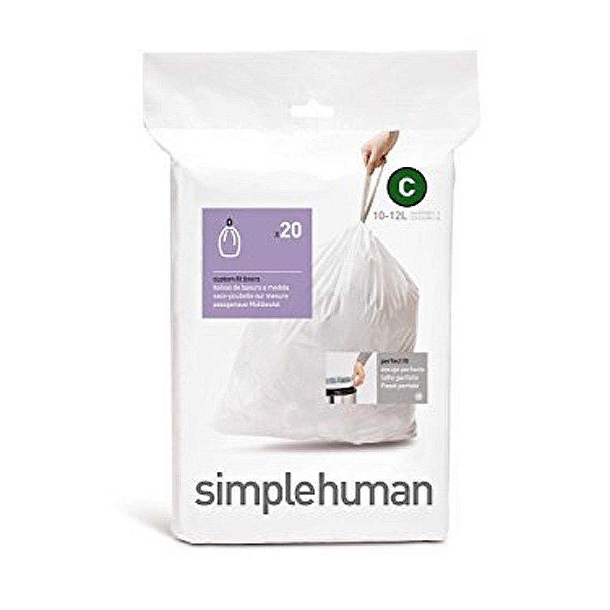 Simplehuman simplehuman 20 Abfallbeutel C 10 l