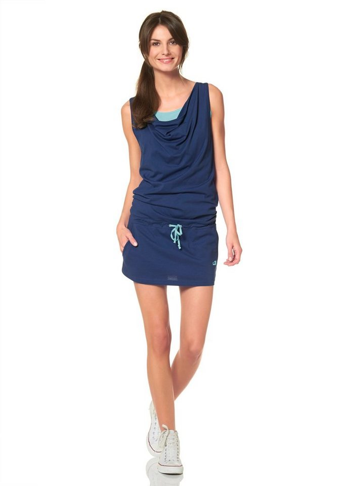 Ocean Sportswear Jerseykleid In 2in1 Optik in blau