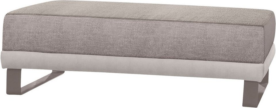 set one by Musterring Hocker »SO 2250« in silber/beige