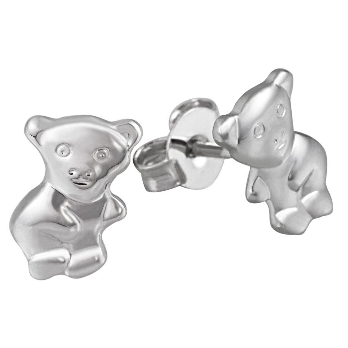 Averdin Paar Ohrstecker Silber 925/- Bärchen