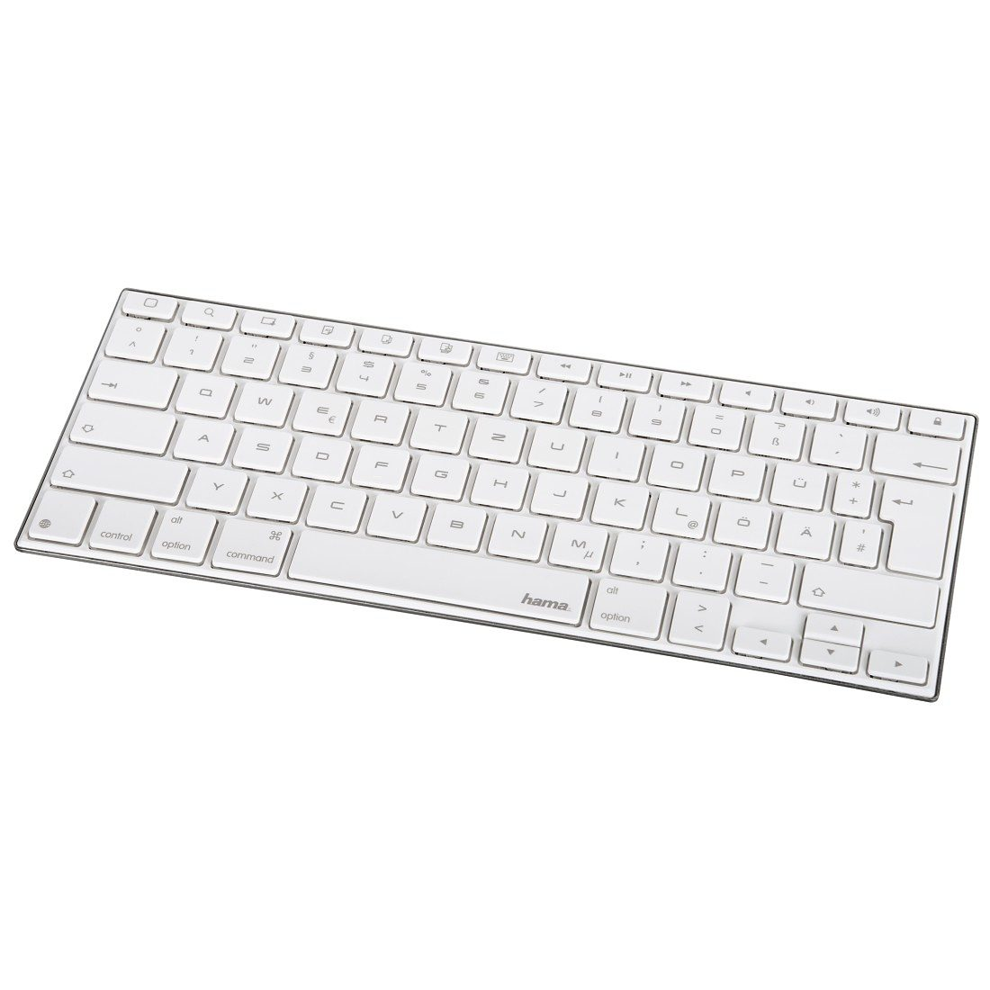 Hama Bluetooth-Tastatur KEY2GO X1000 für Apple iOS