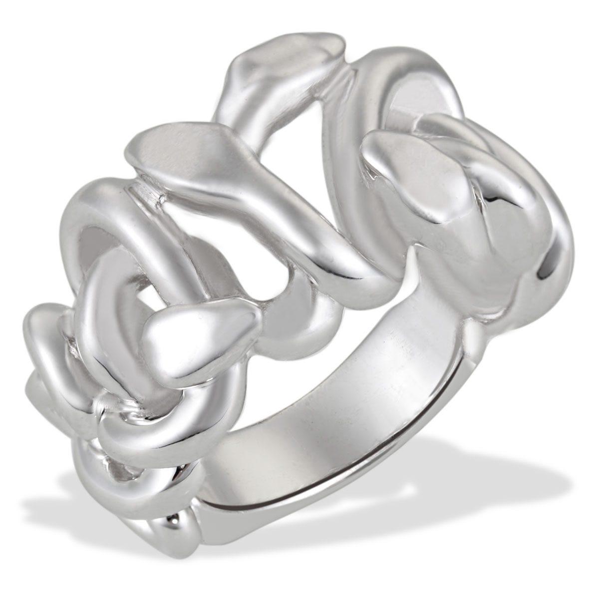Averdin Damenring Silber 925/- Schlangenform