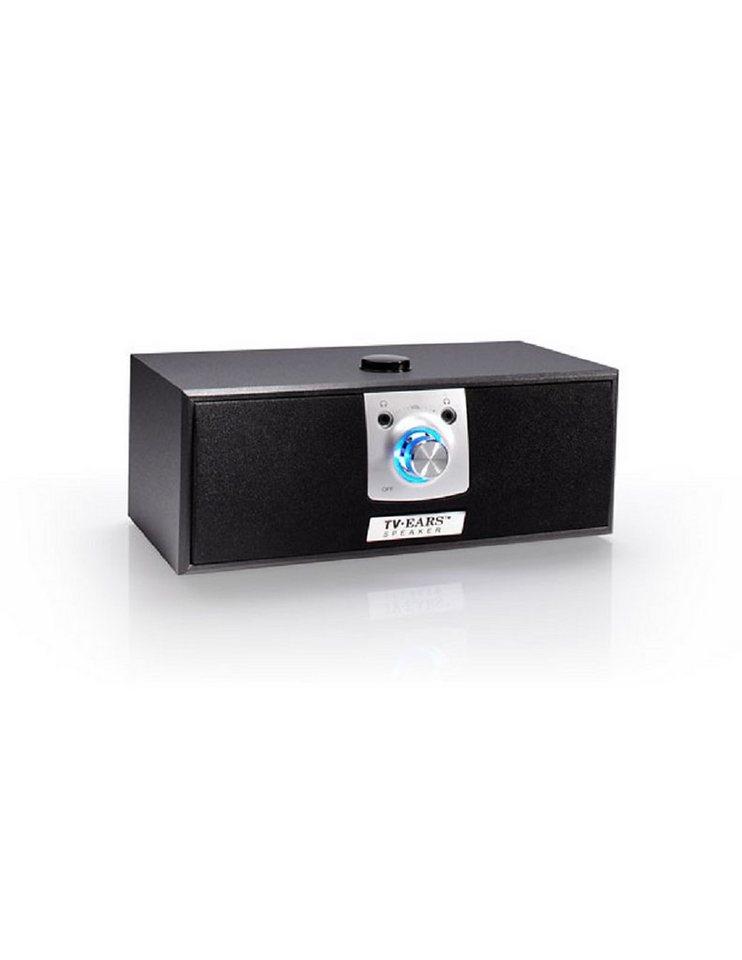 TV Ears Digitaler TV Lautsprecher »5.0 Dual Kopfhörer- und Lautsprechersystem« in schwarz